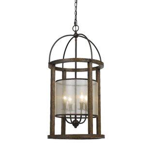 Lantern chandeliers youll love wayfair bundoran 4 light drum chandelier mozeypictures Gallery