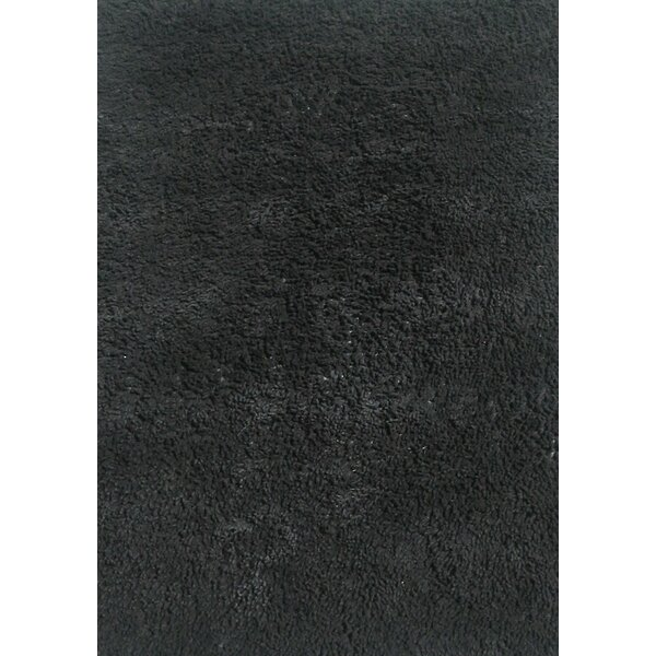 Black Shag Kids Rug by Fun Rugs