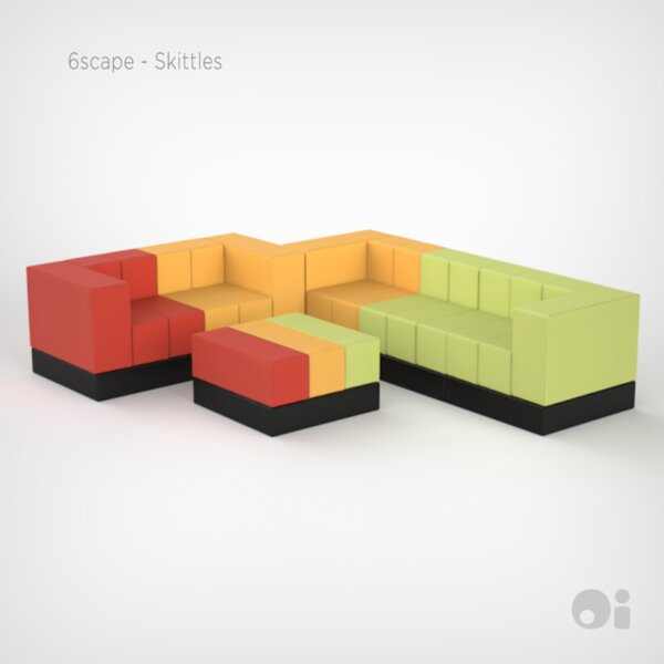 Cellular Modular Sectional by OI Furniture