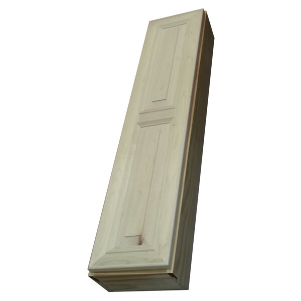 Andrew Series 11 W x 49 H Wall Mounted Cabinet by WG Wood Products