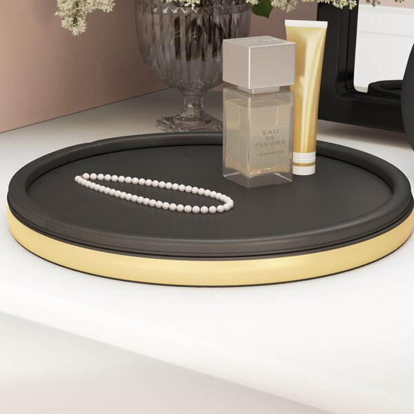 Gilchrist Deluxe Round Serving Tray by Mercer41