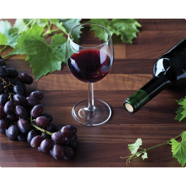 Zin with Grapes Cutting Board by Magic Slice
