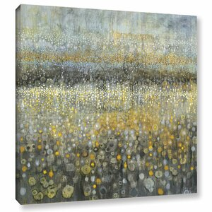 'Rain Abstract II' Painting Print on Wrapped Canvas by Brayden Studio