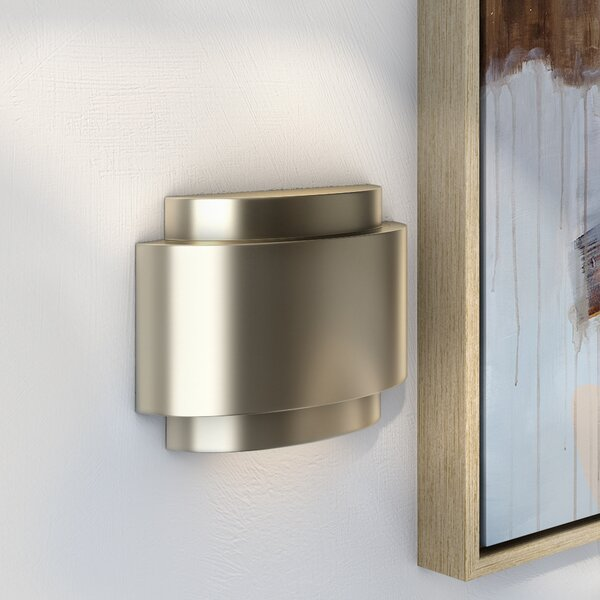 Contemporary Door Chime In Stainless Steel By Wade Logan.
