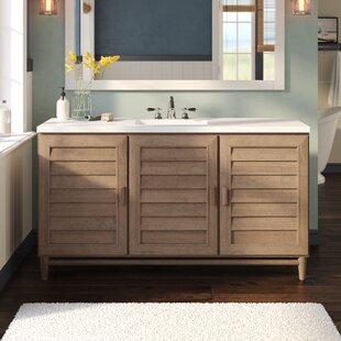 Buying Neuhaus 60 Single Bathroom Vanity Set ByBeachcrest Home