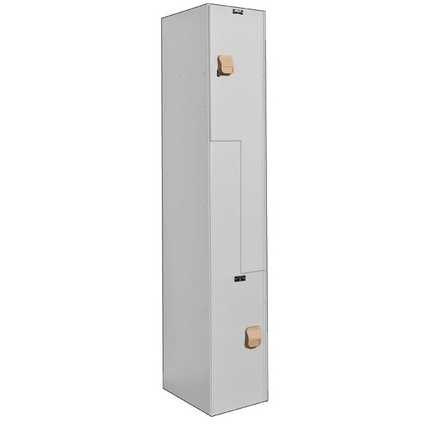 MedSafe 2 Tier 1 Wide School Locker by Hallowell