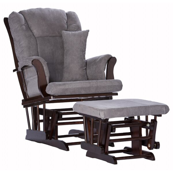 Tuscany Custom Upholstery Glider and Ottoman by Storkcraft