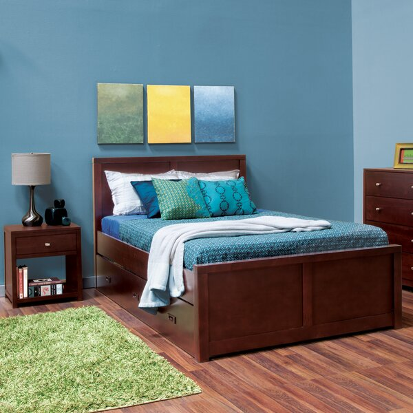 Edmonson Twin Platform Bed with Drawers by Harriet Bee