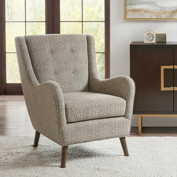 Boehm Wingback Chair by Corrigan Studio