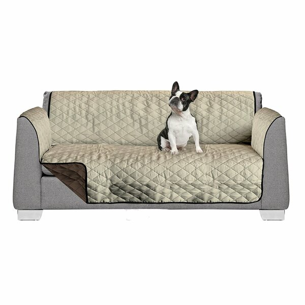 Reversible Box Cushion Sofa Slipcover by American Kennel Club