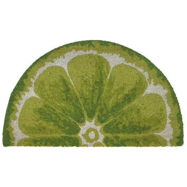 Brookstone Lemon Green Indoor/Outdoor Area Rug by Bay Isle Home