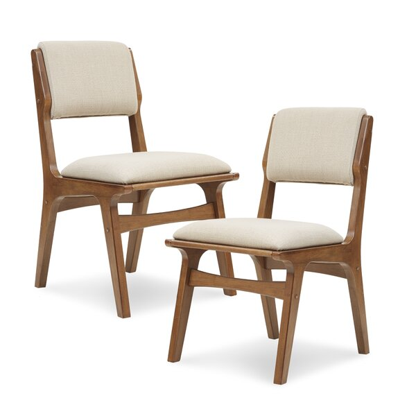 Alvarado Upholstered Dining Chair (Set of 2) by Langley Street