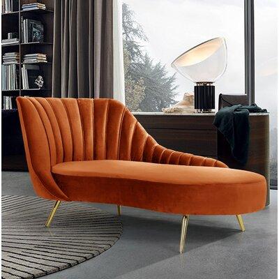Orange Chaise Lounge Chairs You Ll Love In 2020 Wayfair