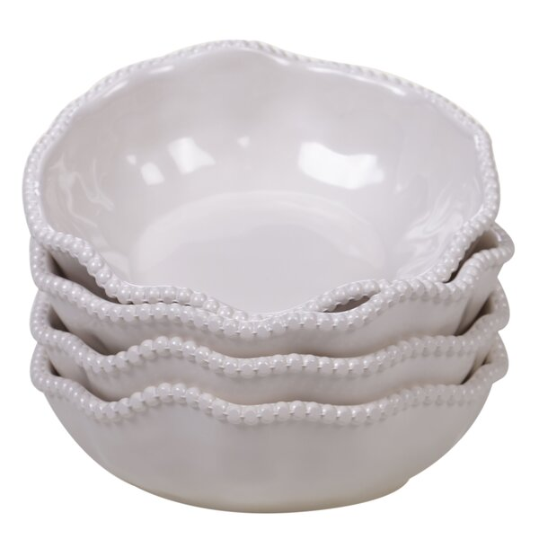 Cave 22 oz. Melamine Dining Bowl (Set of 4) by Highland Dunes
