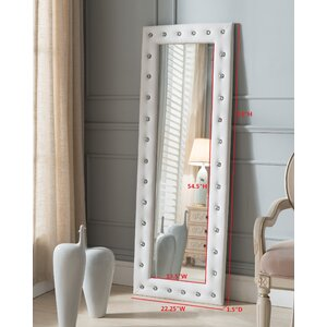 Tufted Full Length Mirror