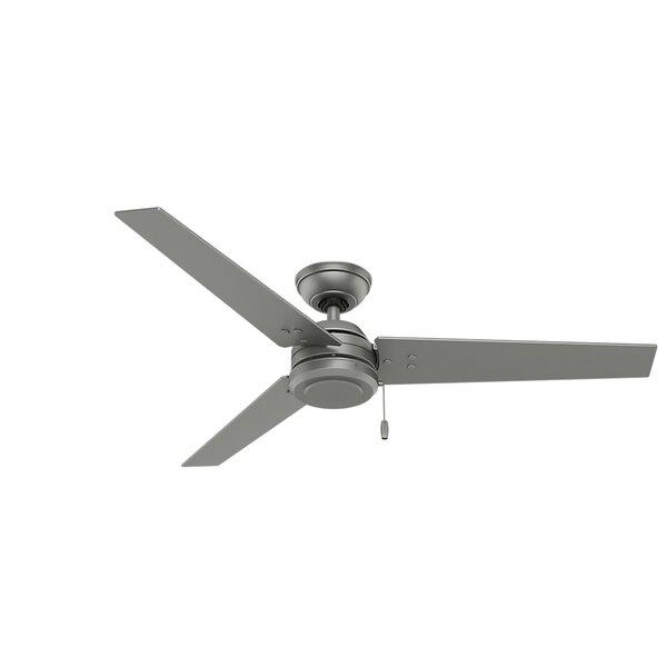 52 Cassius 3-Blade Ceiling Fan by Hunter Fan