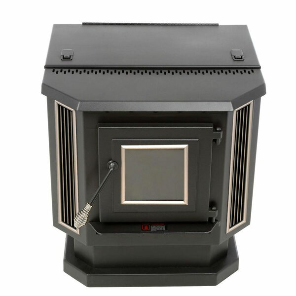 2,200 sq. ft. Direct Vent Pellet Stove by England's Stove Works