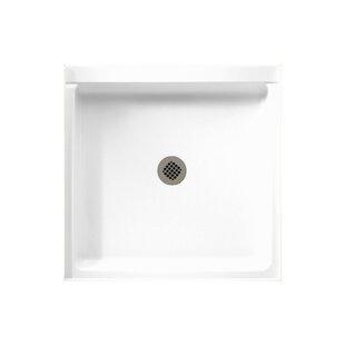 Veritek 36 x 36 Single Threshold Shower Base with Fit-Flo Drain BySwan Surfaces