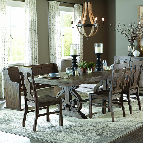 Phyllis 6 Piece Extendable Dining Set by Darby Home Co