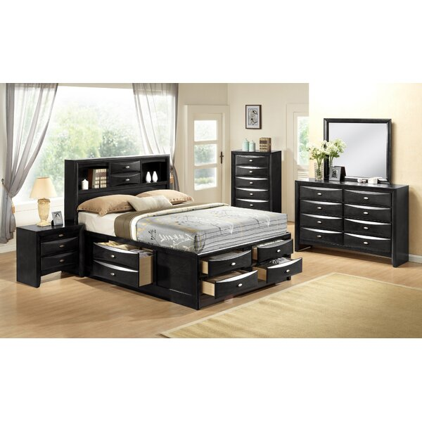 Frakes Storage Platform Bed by Latitude Run