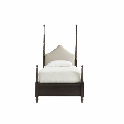 Platform Bed Frame Licorice Twin pic