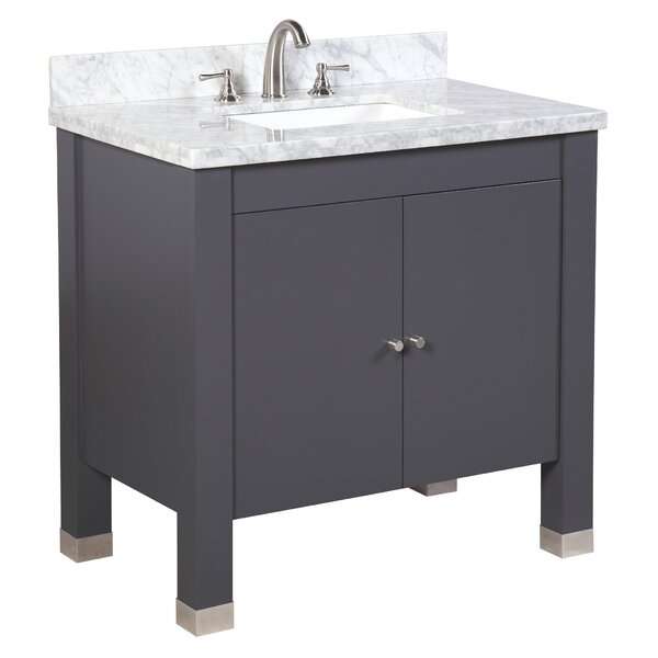 Riley 36 Single Bathroom Vanity Set by Kitchen Bath Collection