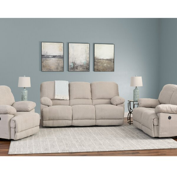 Condron Reclining 3 Piece Living Room Set (Set of 3) by Red Barrel Studio