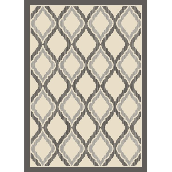 Highland Gray/Ivory Area Rug by Charlton Home