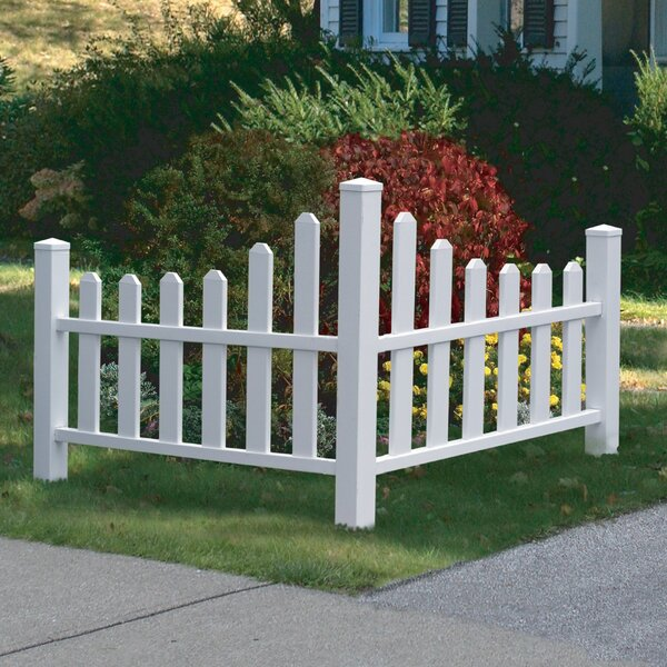 3.5 ft. H x 4 ft. W Country Fence Panel by New England Arbors
