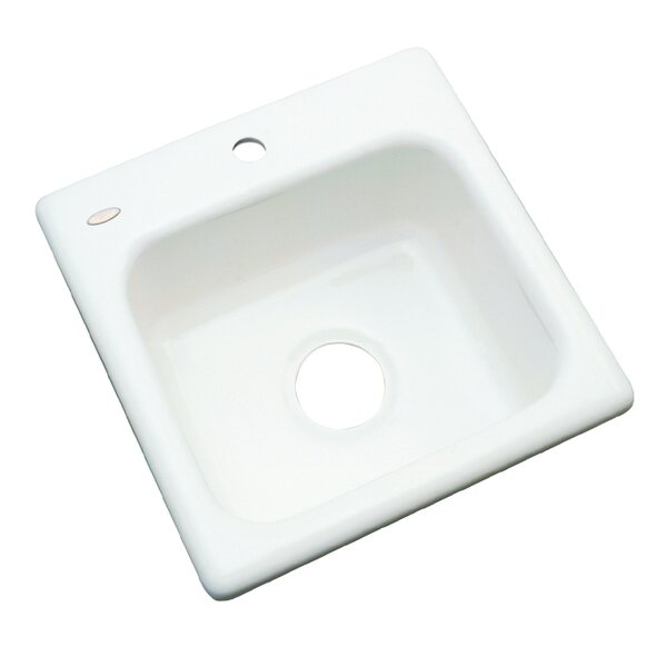 Aspen 16 L x 16 W Bar Sink by Solidcast