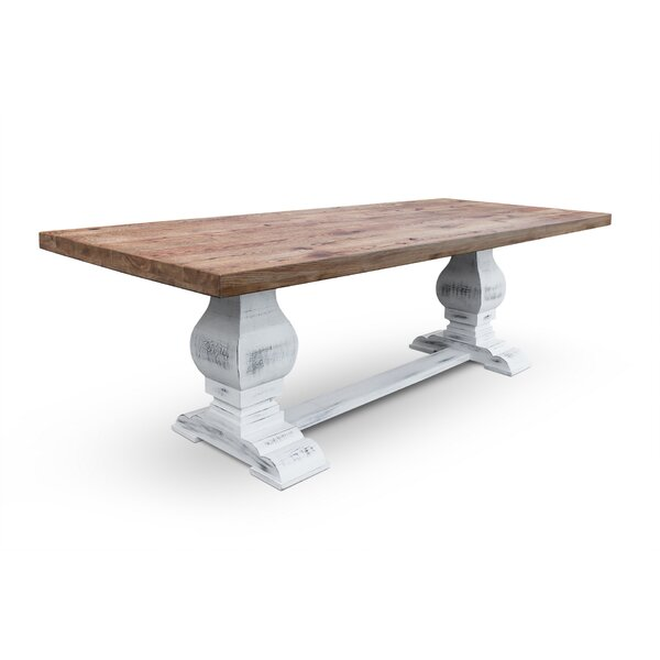 Farid Solid Wood Dining Table by Gracie Oaks Gracie Oaks