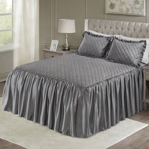 Kraker 3 Piece Quilt Set by House of Hampton