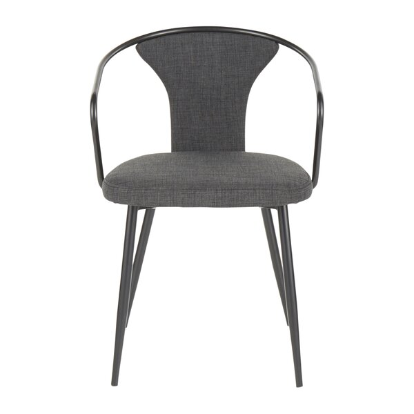 Ames Upholstered Dining Chair by Breakwater Bay