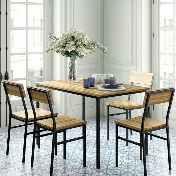 Linden 5 Piece Dining Set by Novogratz Novogratz