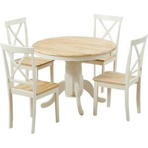 Essgruppe Bartett mit 4 Stühlen