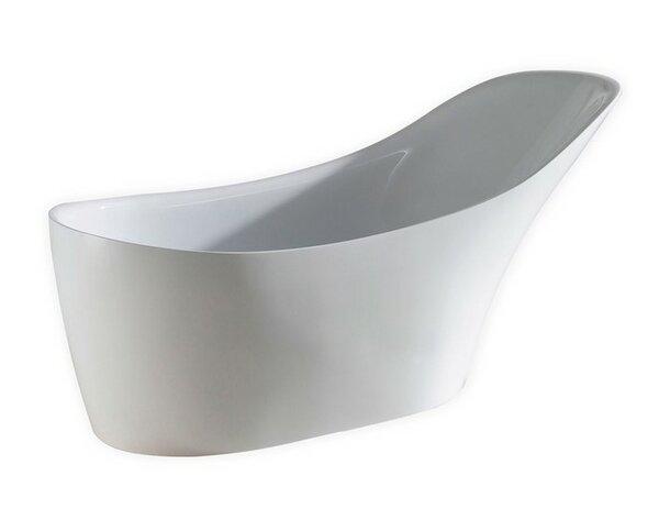 Victorian 67'' x 29 Soaking Bathtub by Kube Bath