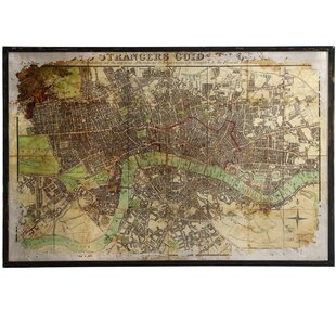 World map wall art eli large antique map framed wall art gumiabroncs Choice Image