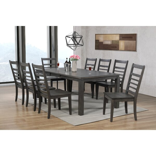 Morin 9 Piece Dining Set by Canora Grey