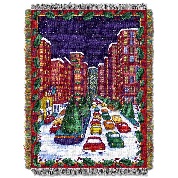 Holiday City Throw by Northwest Co.