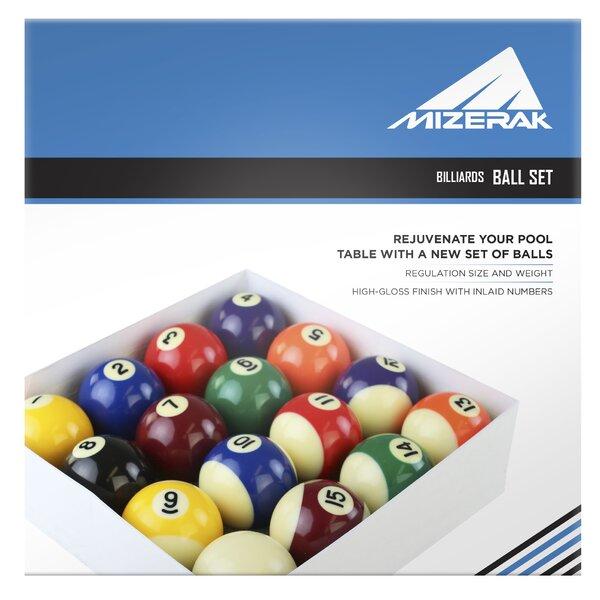 Gameroom Deluxe Billiard Ball Set by Mizerak