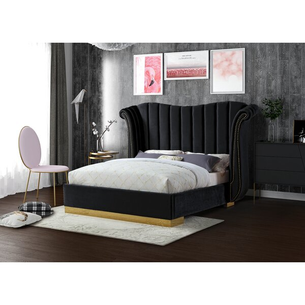 Cicero Upholstered Platform Bed by Everly Quinn