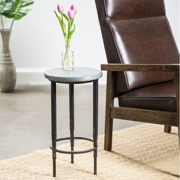 Mya End Table by 17 Stories