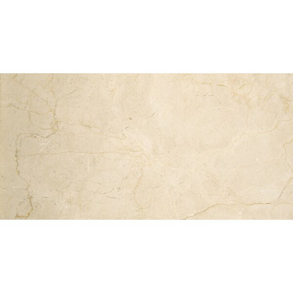 Marble 4 x 8 Marble Tile in Marfil Classico by Emser Tile
