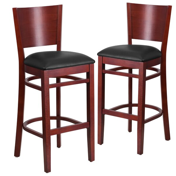 Harriet 32 Bar Stool (Set of 2) by Red Barrel Studio
