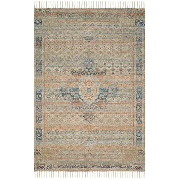Cornelia Hand-Knotted Ocean Sunset Area Rug by Loloi x Justina Blakeney