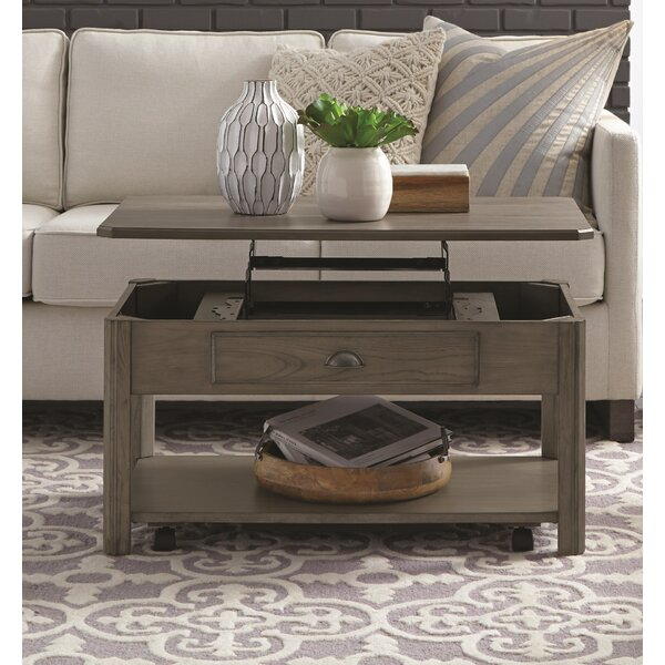 Fernville Lift-Top Coffee Table With Storage By Darby Home Co