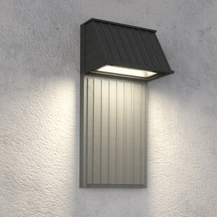 Reviews Tove 2-Light LED Outdoor Flush Mount By Feiss