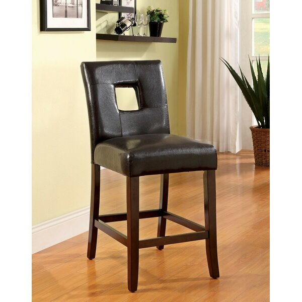 Bayaud Counter Height Upholstered Dining Chair (Set of 2) by World Menagerie