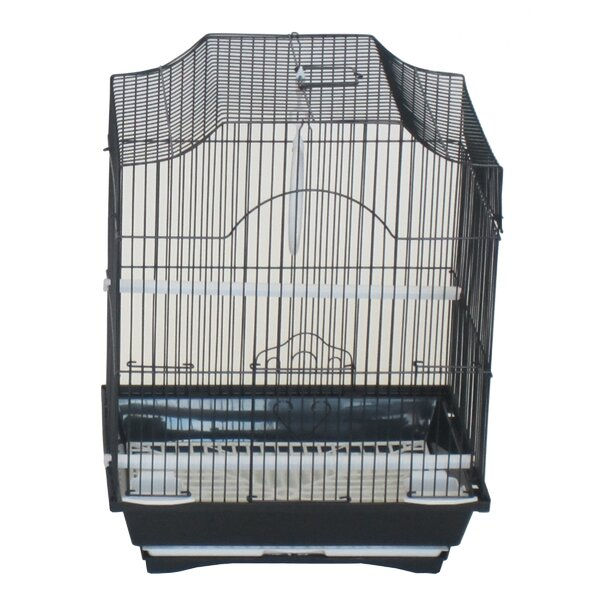 Iglesias Cornerless Flat Top Bird Cage by Tucker Murphy Pet