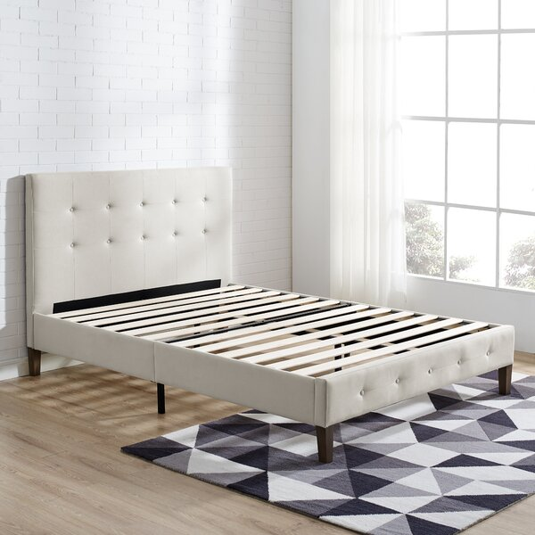 Monona Upholstered Platform Bed by Wrought Studio